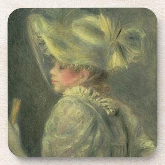 Dessous-de-verre Pierre un Renoir | le casquette blanc
