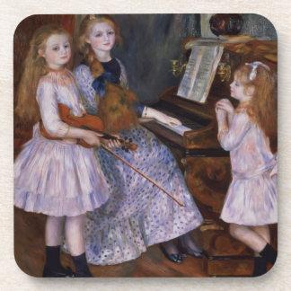 Dessous-de-verre Pierre un Renoir | les filles de Catulle Mendes