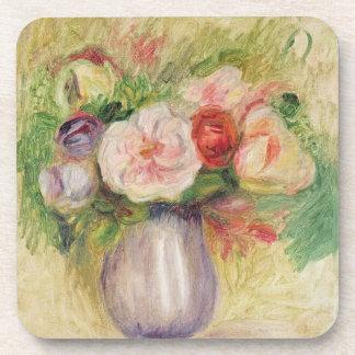 Dessous-de-verre Pierre un vase à Renoir | de fleurs