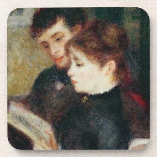 Dessous-de-verre Pierre une lecture de couples de Renoir |