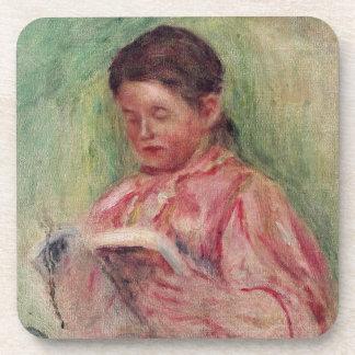 Dessous-de-verre Pierre une lecture de femme de Renoir |