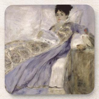Dessous-de-verre Pierre une Madame Monet de Renoir | sur un sofa
