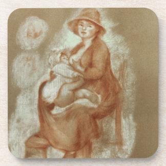 Dessous-de-verre Pierre une maternité de Renoir |