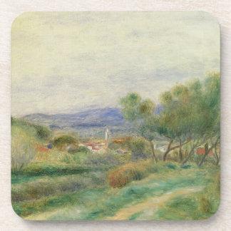 Dessous-de-verre Pierre une vue de Renoir | de La Seyne, Provence