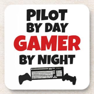 Dessous-de-verre Pilote par le Gamer de jour par nuit