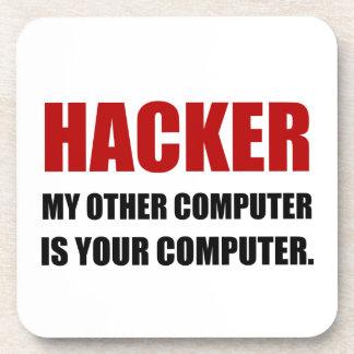 Dessous-de-verre Pirate informatique l'autre votre ordinateur
