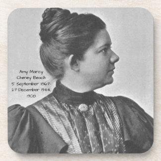 Dessous-de-verre Plage 1908 d'Amy Marcy Cheney