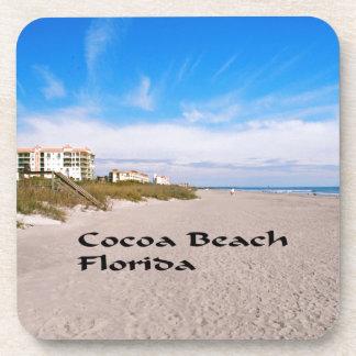 Dessous-de-verre plage la Floride de cacao