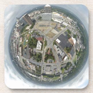 Dessous-de-verre Planète minuscule de Greensboro
