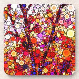 Dessous-de-verre Plantation des cerisiers