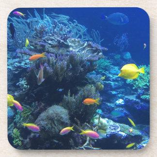 Dessous-de-verre Poissons sous-marins tropicaux