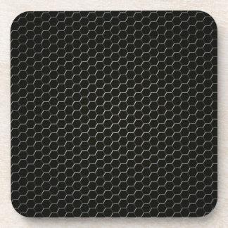 Dessous-de-verre polymère Carbone-fibre-renforcé