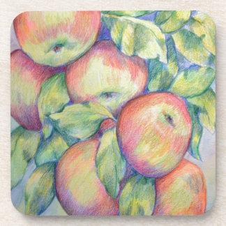 Dessous-de-verre Pommes de colline de dépôt