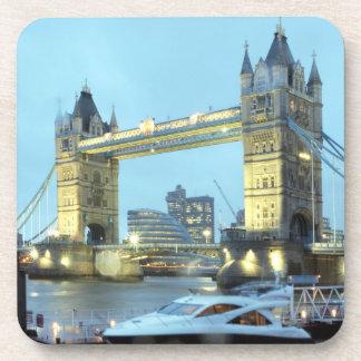 Dessous-de-verre Pont de tour en photo de souvenir de Londres