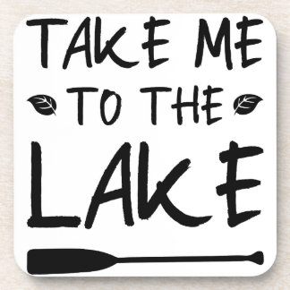 Dessous-de-verre Portez-moi au lac