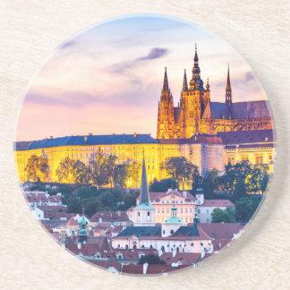 Dessous de verre Prague de boissons de grès