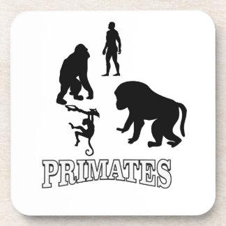 Dessous-de-verre primats d'ombre