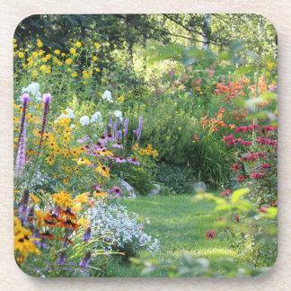 Dessous-de-verre Rassemblement de trois jardins