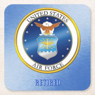 Dessous de verre retirés parU.S. Air Force Dessous-de-verre Carré En Papier