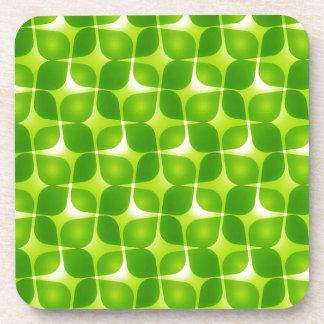 Dessous-de-verre Rétro style vert