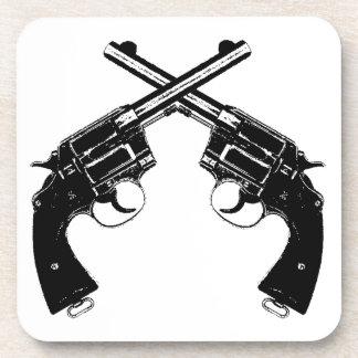 Dessous-de-verre Revolvers croisés
