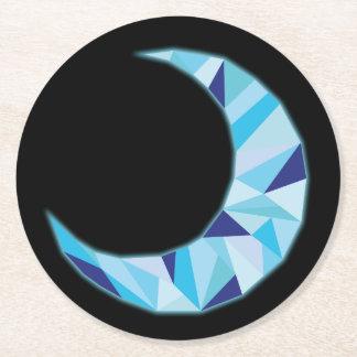Dessous-de-verre Rond En Papier Dessous de verre de lune