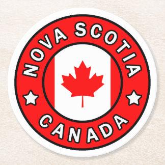 Dessous-de-verre Rond En Papier La Nouvelle-Écosse Canada