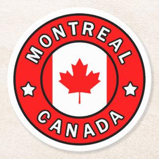 Dessous-de-verre Rond En Papier Montréal Canada