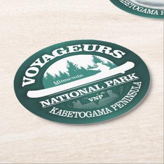 Dessous-de-verre Rond En Papier Parc national de Voyageurs