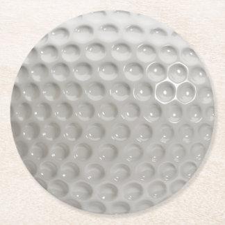 Dessous-de-verre Rond En Papier Sport de boule de golf