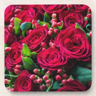 Dessous-de-verre Roses rouges