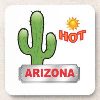 Dessous-de-verre Rouge chaud de l'Arizona
