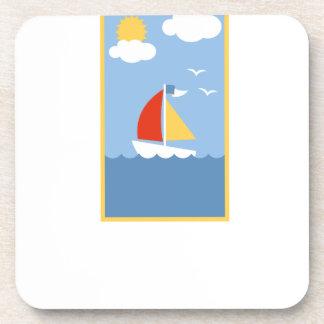 Dessous-de-verre sailing