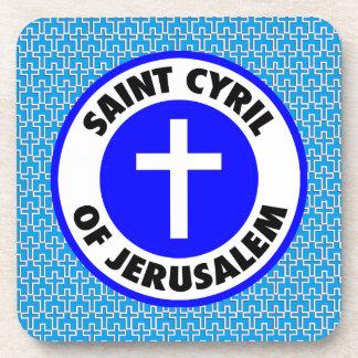 Dessous-de-verre Saint Cyrille de Jérusalem