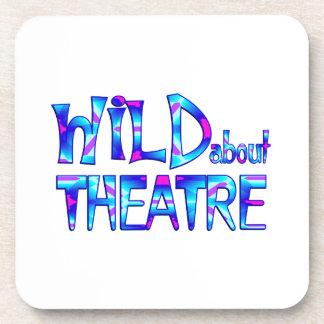 Dessous-de-verre Sauvage au sujet du théâtre