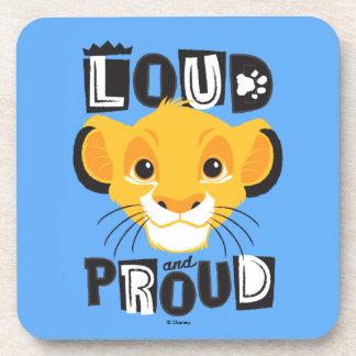 Dessous-de-verre Simba   fort et fier