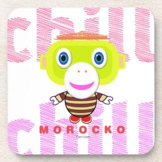 Dessous-de-verre Singe-Morocko Froid-Mignon