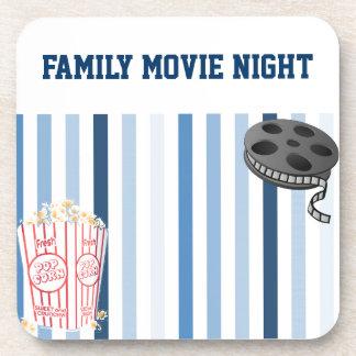 Dessous-de-verre Soirée cinéma de famille