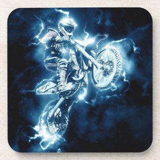 Dessous-de-verre Sport d'extrémité de motocross