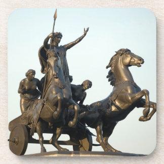 Dessous-de-verre Statue de Boudicca en photo de souvenir de Londres
