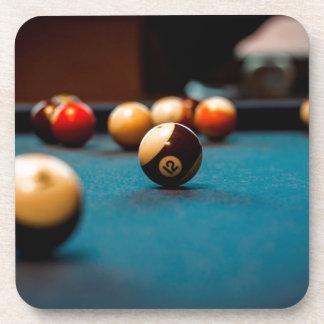 Dessous-de-verre Tableau de boule de piscine