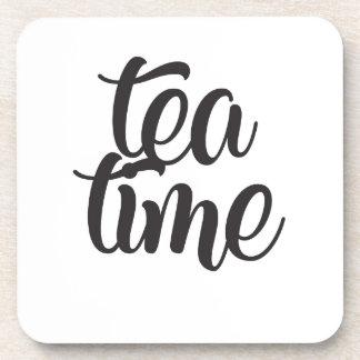 Dessous-de-verre Temps de thé