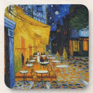 Dessous-de-verre Terrasse de Café le nuit de Vincent Van Gogh