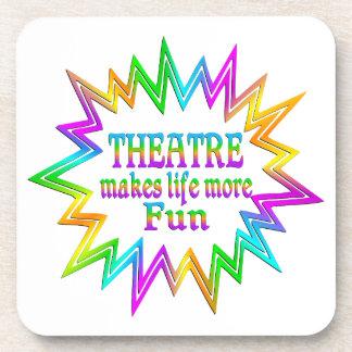 Dessous-de-verre Théâtre plus d'amusement