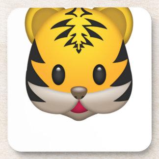 Dessous-de-verre Tigre mignon Emoji