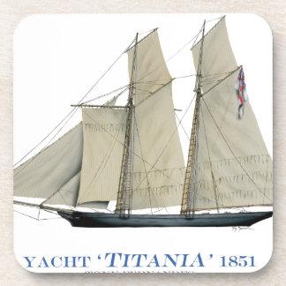 Dessous-de-verre Titania 1851
