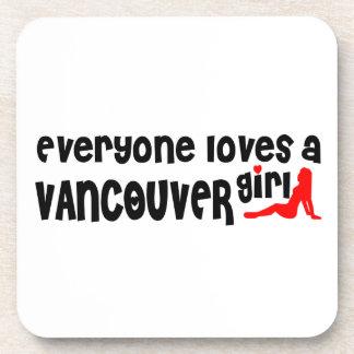 Dessous-de-verre Tout le monde aime une fille de Vancouver