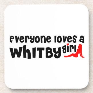 Dessous-de-verre Tout le monde aime une fille de Whitby