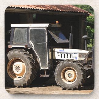 Dessous-de-verre Tracteur gris, EL Camino, Espagne