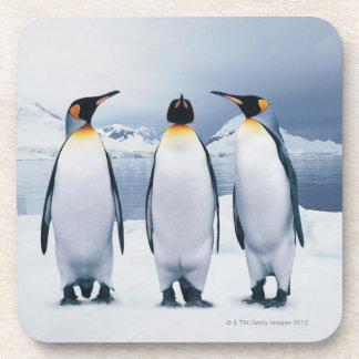 Dessous-de-verre Trois le Roi pingouins